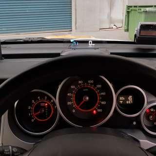 Honda Crossroad EANOP HUD OBD OBD2 Gauge