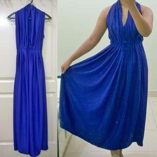 #MMAR18 Purple Maxi Dress