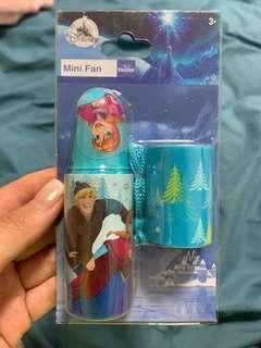 香港迪士尼 frozen 魔雪奇緣 風扇 mini fan