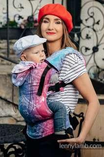 Baby Carrier ERGONOMIC CARRIER, BABY SIZE, JACQUARD WEAVE 100% COTTON - WRAP CONVERSION FROM CITY OF LOVE