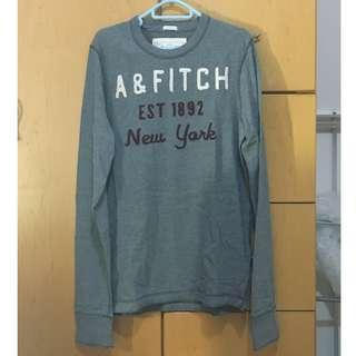 A&F Abercrombie & Fitch 長袖 tee t-shirt 男裝