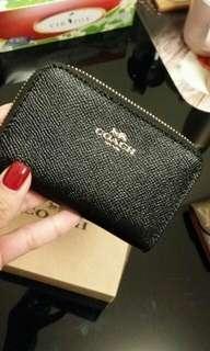 正品 Coach 銀包 散紙包 purse coins bag card holder