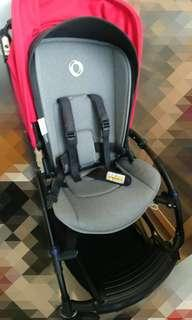 Bugaboo Bee 3 Stroller with travel bag and cocoon