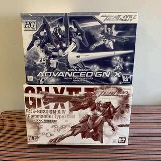 HG 1/144 Advance GN-X and GN-X IV (Commander Type) Set