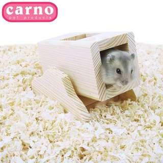 Hamster wooden toy