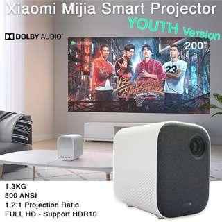 "Projector TV 40"" - 200"""