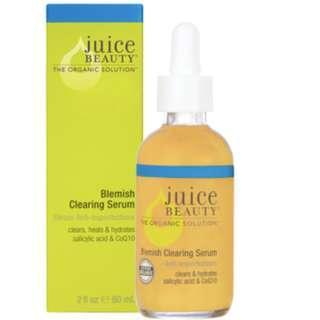 全新 Juice Beauty Blemish Clearing Serum 抗痘控油祛印精華 60ml