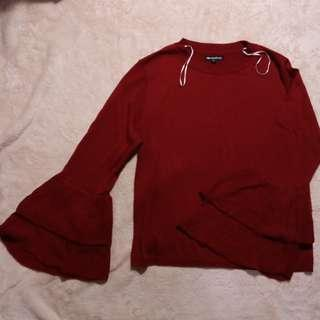 Sweater Colorbox Maroon