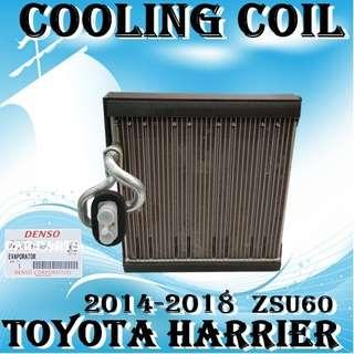Toyota Harrier 2014-2018~ZSU60 Denso Brand Cooling Coil Made in Japan Car Air Con Workshop Services and Repair