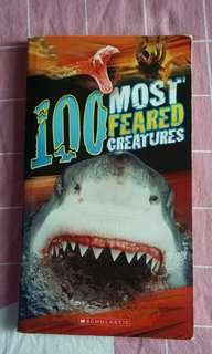 100 most feared creatures by Scholastic publishing