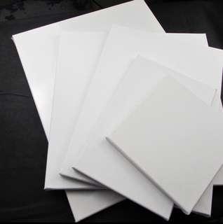 White Plain Canvas #GayaRaya