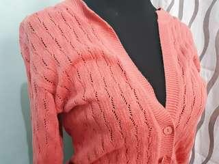 Wool Coral Sweater