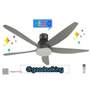 """BNIB KDK LED Light Ceiling Fan 60""""+ Free Islandwide Delivery+ MAGIC STATIC CLEANER+Mounting Hook and Bolts"""