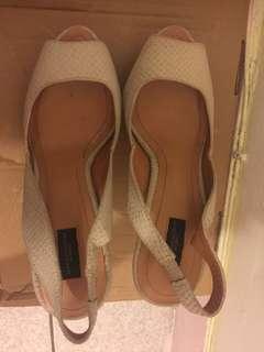 🚚 ZARA 高跟涼鞋