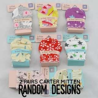 🚚 [Ready Stock] 2 pairs Carter Mittens