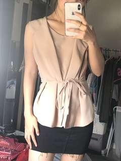 Kimono top soft pink