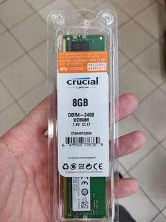 Crucial 8GB ddr4 2400mhz ram