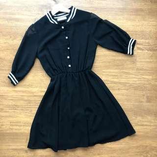 Korean dress ( BLACK)