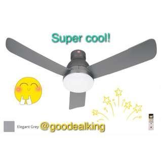 "KDK LED Light Ceiling Fan 48""+ Free Gift+ Islandwide Delivery New"