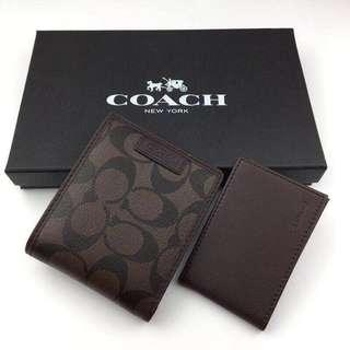 🚚 Sale!coach mens wallet