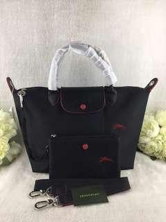 🚚 Sale!longchamp neo logo club medium