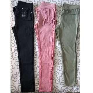 #MMAR18 Assorted Pants: Uniqlo Jeans, Legging Pants, Docker Golf Pants