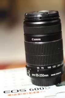 Lensa canon 55-250