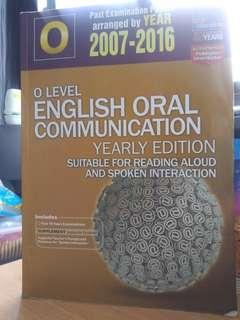 (CHEAP)O level English Oral Com. Yearly Edition