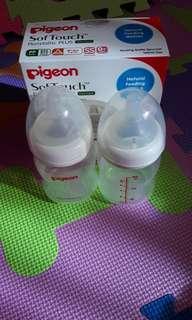 Pigeon Peristaltic Plus Feeding Bottles 160 mL