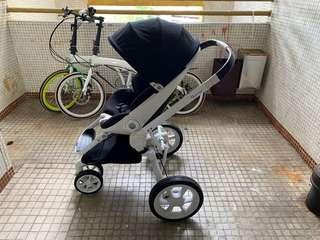 一折發售quinny moodd bb車 stroller