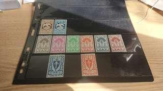 法屬地郵票