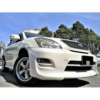 2007 Toyota HARRIER 2.4 240G(A)P/ROOF L/SEAT PROMO