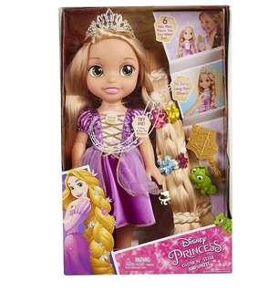 迪士尼 長髮公主 樂佩 公仔 玩具  頭髮  發光 發聲 唱歌