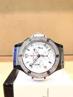 Brand New Hublot Big Bang 342.SE.230.RX.114 Black Dial Automatic Steel Casing Rubber