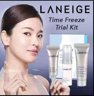 [Clearance!!!] - Laneige Time Freeze Trial Kit 3 items