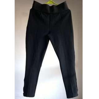 #MMAR18 Black High Waist Legging Pants