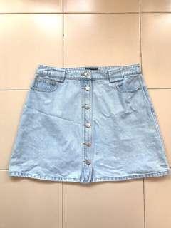 The Closet Lover Ria Denim Skirt