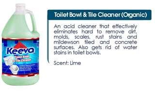 Keeva Toilet Bowl and Tile Cleaner (ORGANIC