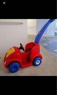 Little Tikes push round Car