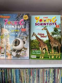 🚚 Young Scientist Level 1 ( Issues no. 63- Issues no. 163)