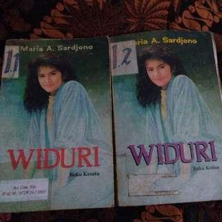 Maria A. Sardjono Widuri jilid 1 dan 2