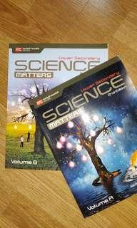 Lower Secondary Science Textbooks Vol. A & B