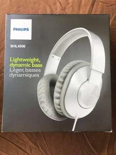BNIB Philips Headphone SHL4500