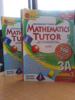 🚚 Casco Sec3 Maths tutor