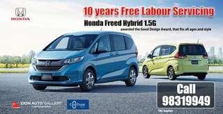 Honda Freed 1.5 Hybrid 1.5 G Auto