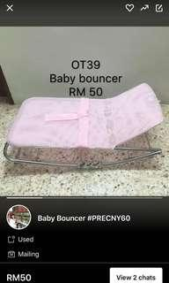 😺mac promo😺baby bouncer