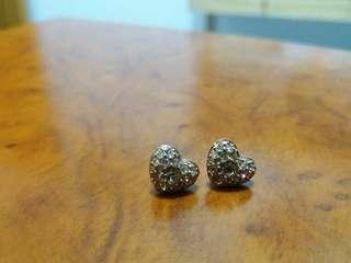 Earrings (rose gold)