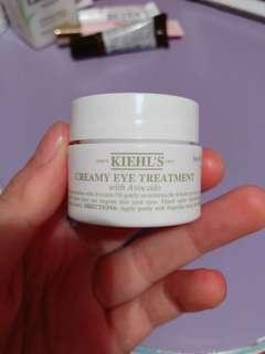 Keihl's creamy eye treatment