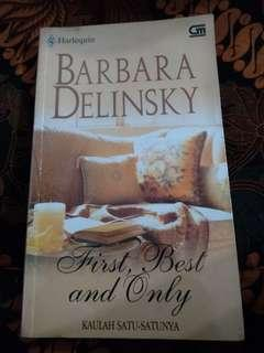 Harlequin Barbara Delinsky Kaulah Satu Satunya