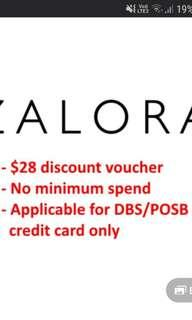 🚚 Zalora $28 voucher for 20 dollars